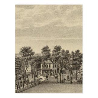 Evans Residence, Topeka, Kansas Postcard