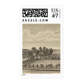 Evans Residence, Topeka, Kansas Stamp