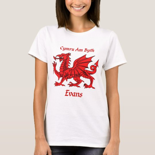 Evans Welsh Dragon T-Shirt