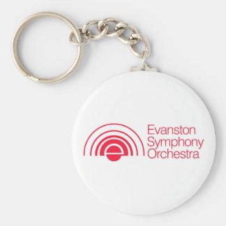 Evanston Symphony Orchestra Keychain