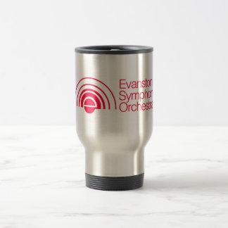Evanston Symphony Orchestra 15 Oz Stainless Steel Travel Mug