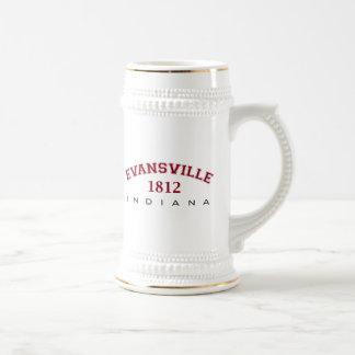 Evansville, ADENTRO - 1812 Jarra De Cerveza