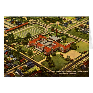 Evansville, Indiana Bosse High School 1940 Card