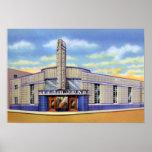 Evansville Indiana Greyhound Bus Station Poster