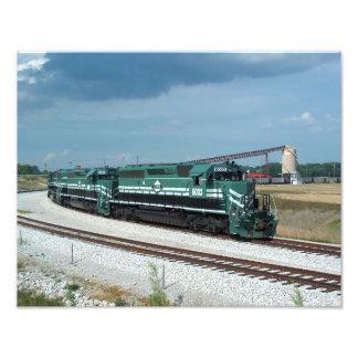 Evansville Western Railway Print Art Photo