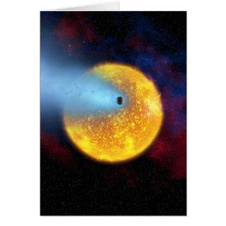 Evaporating Planet Card