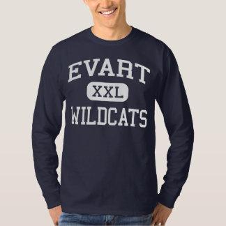 Evart Wildcats Middle School Evart Michigan T-Shirt