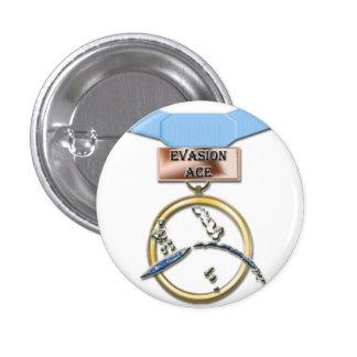 Evasion Ace medal button