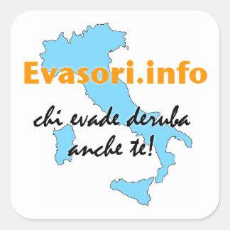Evasori.info: adesivi grandi square stickers