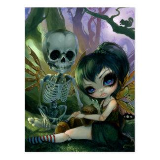 """Eve and Rib"" Postcard"