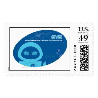 Eve Blue Disney Stamps