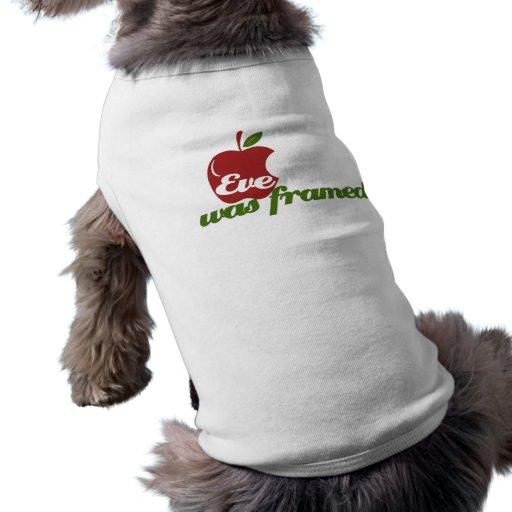 Eve capítulo playera sin mangas para perro