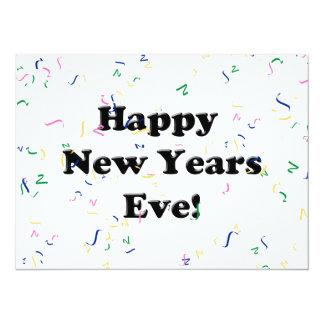 Eve de la Feliz Año Nuevo