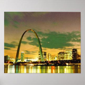 Eve de las series 1982 de mundo St Louis Missour Posters
