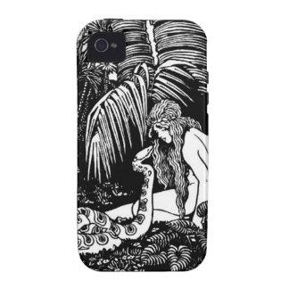 Eve en el jardín iPhone 4/4S carcasa