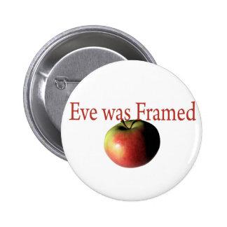 Eve fue enmarcado pin