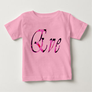 Eve Girls Name Logo, Baby T-Shirt