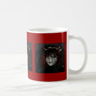 Eve, Goth Bride Classic White Coffee Mug