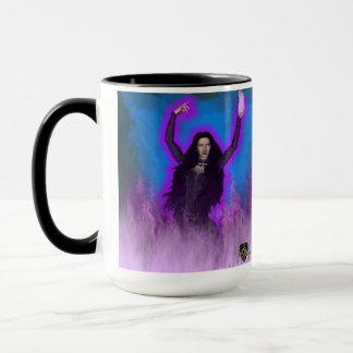Eve In Flames Mug
