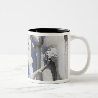 Eve in Garden of Eden Doges' Palace with Two-Tone Coffee Mug