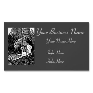 Eve In The Garden Magnetic Business Card