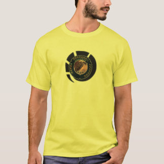 Eve Machariel Shiny Fitted T-Shirt
