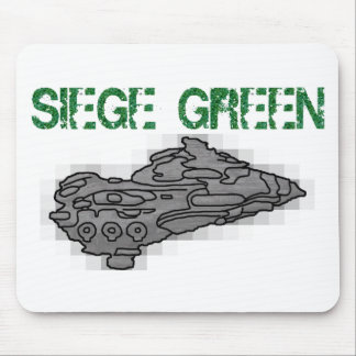 Eve Moros Dreadnought Siege Green Mouse Pad