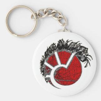 Eve Punk Minmatar Mohawk Keychain