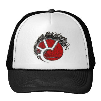 Eve Punk Minmatar Mohawk Trucker Hat
