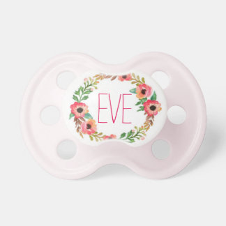 """Eve"" Simple & Elegant Personalized Name Pacifier"