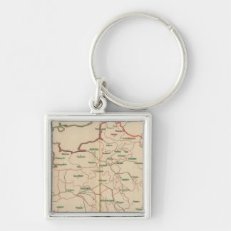 Evechez, France Keychain