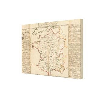 Evechez, France Stretched Canvas Print