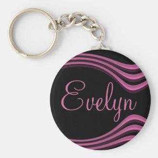 Evelyn adaptable llavero personalizado