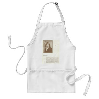 Evelyn Brent Spaghetti Recipe Adult Apron