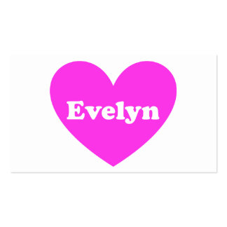 Evelyn Business Card