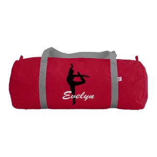 Evelyn custom duffle gym dance bag gym duffel bag
