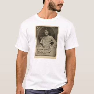 Evelyn Greeley 1919 movie ad T-shirt