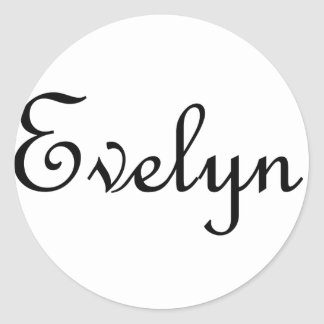 Evelyn Pegatinas Redondas