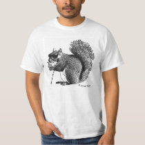 Even a Blind Squirrel Finds a Nut Once in a While T-Shirt