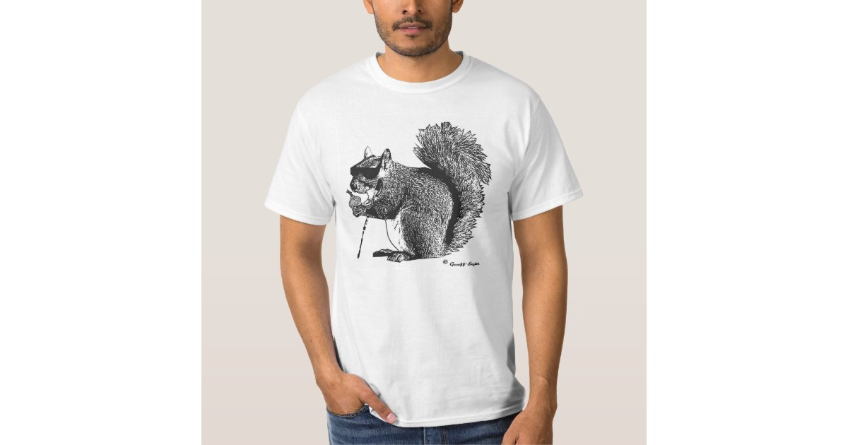 Even A Blind Squirrel Finds A Nut Once In A While T Shirt