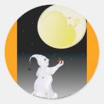 Even a Ghost Needs Friends Halloween Stickers