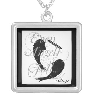 EVEN ANGELS FALL NECKLACE