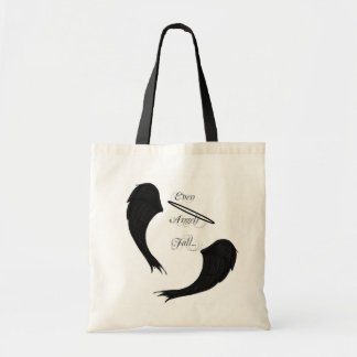 EVEN ANGELS FALL TOTE
