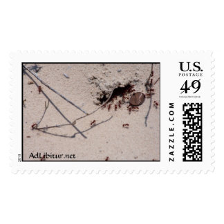 Even Ants Have to Earn Their Keep. Stamps