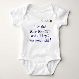 Even Baby needs Cake! Baby Bodysuit