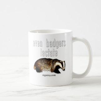 Even Badgers Lactate Coffee Mug