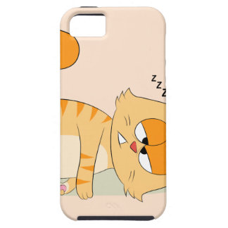 Even Cat Hates Monday iPhone SE/5/5s Case