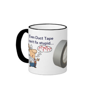 Even Duct Tape... Coffee Mugs