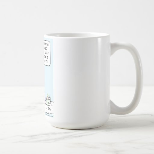 Even God doesn't understand Daylight Saving Time Coffee Mug
