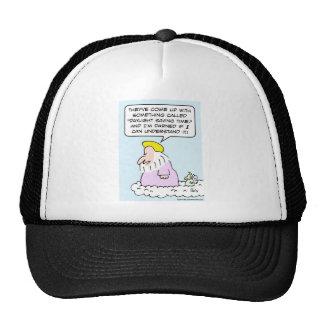 Even God doesn't understand Daylight Saving Time Trucker Hat